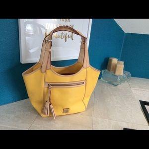 Dooney & Bourke Saffiano Leather HandBag- Maddie